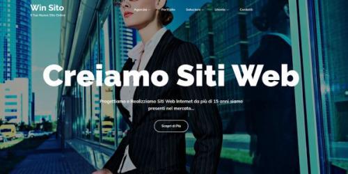 Win SitoProgettiamo e realizziamo il tuo sito: Servizi Online
